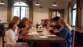 Weinprobe auf dem Weingut